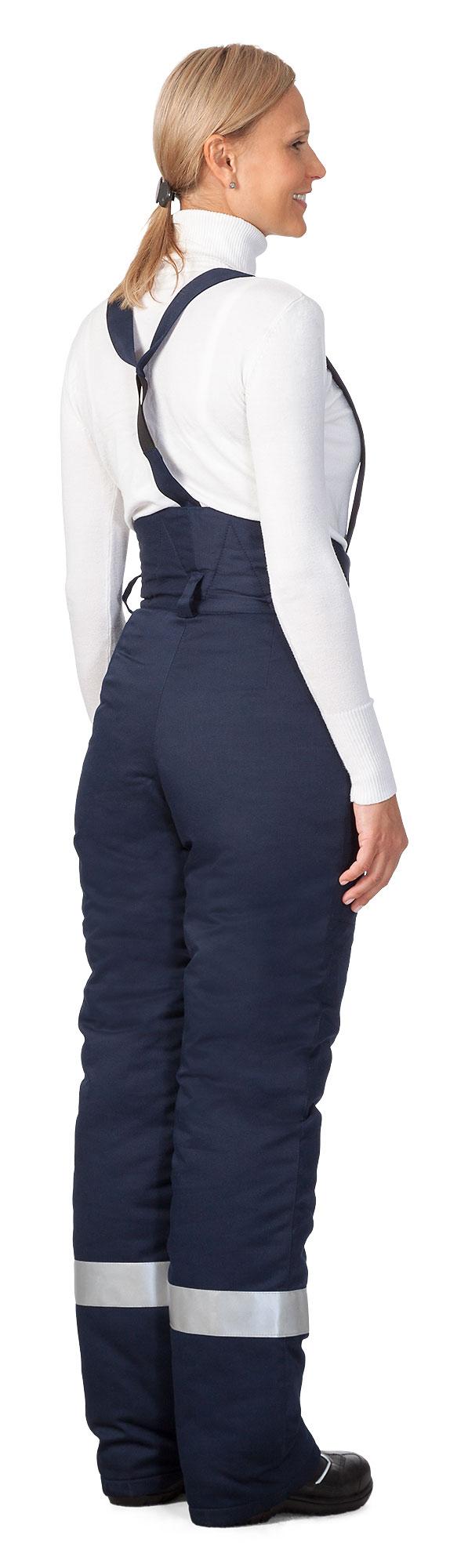 Зимние утепленные брюки женские