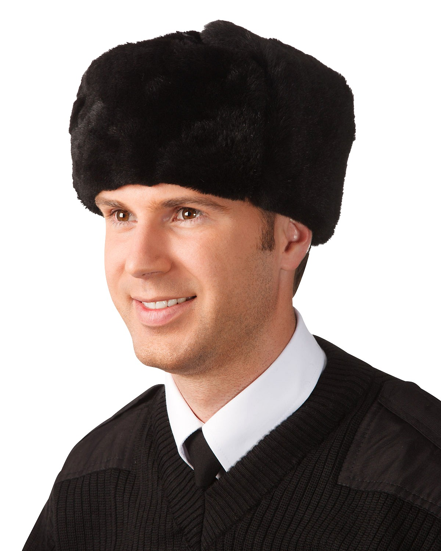 Шапка мужская меховая (овчина) с кожаным верхом    Техноавиа 035d985f7bf37