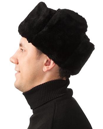 Выкройка ушанки.  Как сшить шапку ушанку.